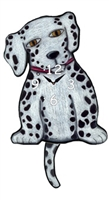 Dalmatian Wagging Tail Clock www.SaltyPaws.com