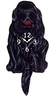 Newfoundland Wagging Tail Clock www.SaltyPaws.com