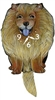Chow Chow Wagging Tail Clock www.SaltyPaws.com