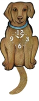 Vizsla Wagging Tail Clock www.SaltyPaws.com