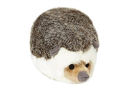 Dog Toy Tough Plush Hedgehog at SaltyPaws.com