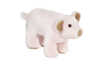 Dog Toy Tough Plush Pig at SaltyPaws.com