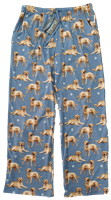 Yellow Lab Lounge Sleep Pajama Bottom Pants www.SaltyPaws.com