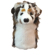 Australian Shepherd Golf Club Headcover at SaltyPaws.com