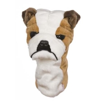 Bulldog Golf Club Headcover at SaltyPaws.com