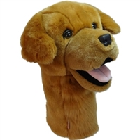 Golden Golf Club Headcover at SaltyPaws.com