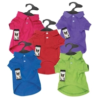 Dogs' Polo Shirt available at SaltyPaws.com