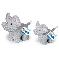 Plush Elephant With Sound Chip Dog Toy at SaltyPaws.com