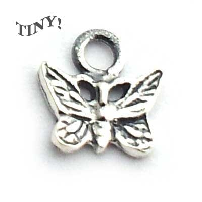 micro butterfly charm