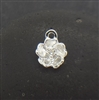 sterling silver tiny flower charm