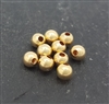 3mm gold filled bead (10)