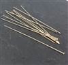 26 gauge headpins 1.5 inch gold filled (10)