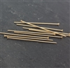 24 gauge headpins 1inch gold filled (10)