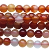 natural carnelian round bead string