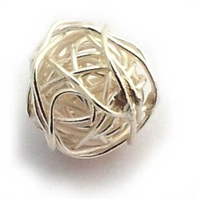 wire wrap bead 12mm hill tribe