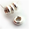 5mmx2.7mm donut (pk 10) st. silver