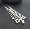 24 gauge ball 1 inch ball end headpins (10)