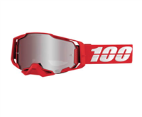100% Armega War red Goggles