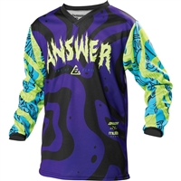 Answer Racing Youth A21 Arkon Hypno Jersey
