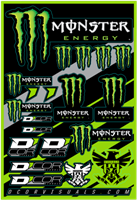 DCor Visuals Monster Sticker Sheet