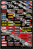 DCor Visuals Sponsor Logo Sticker Sheet 2