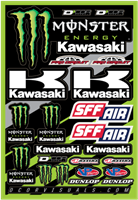 DCor Visuals kawasaki Monster Sticker Sheet
