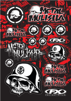 FX Metal Mulisha Sticker Kit 1