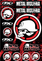 FX Metal Mulisha Sticker Kit 2