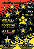 FX Rockstar Sticker Sheet