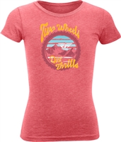 Fly Racing Girls Dirt Thrills Tee