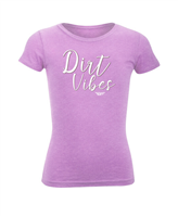 Fly Racing Girls Dirt Vibes Tee