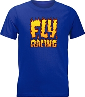 Fly Racing Youth Fire Tee