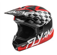 Fly Racing Youth Kinetic Sketch Helmet