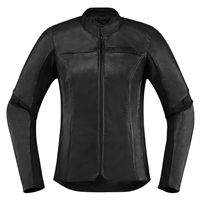 Icon Womens Overlord Leather Jacket