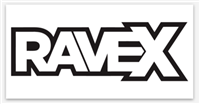 Rave X Clean Logo Sticker
