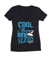 Rave X Cool Moms Ride Sleds V Neck