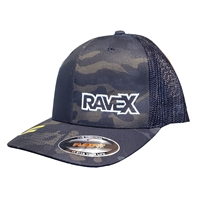 Rave X Mesh Back Flexfit Hat