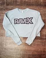 Rave X Womens Cropped Crew Fleece