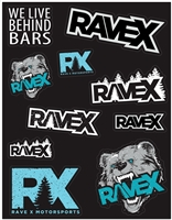 Rave X Sticker Pack