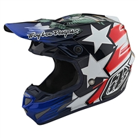 Troy Lee Designs SE4 Carbon Liberty Helmet