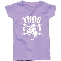 Thor Toddler Girl's Lightning Tee