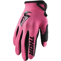 Thor Womens Sector Pink Gloves