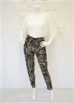 Silk Cheetah Pant
