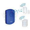 door alarm and motion detector monitor with remote portable alarm kit for wandering Alzheimer's dementia elderly Autism SMPL