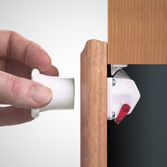 Invisible Cabinet Lock I Dementia Security Cabinet Lock I