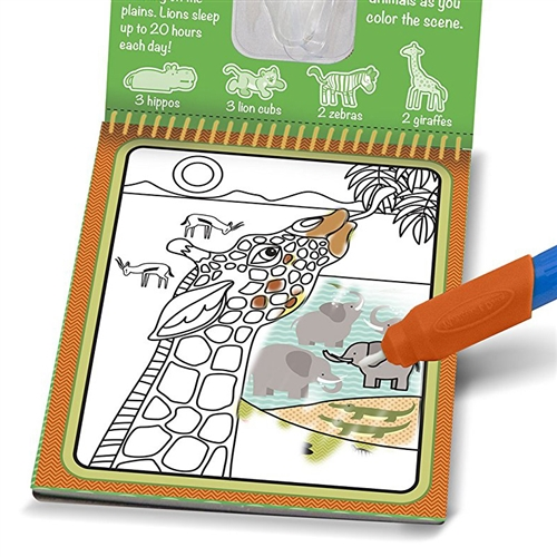 paint with water dementia activity book