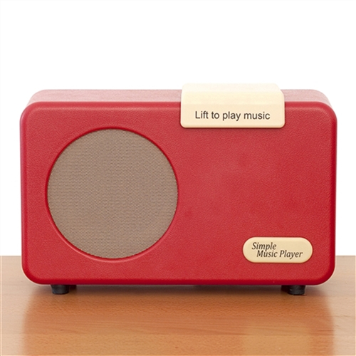 simple to use music player for Alzheimer's, dementia, stroke, arthritis and the elderly