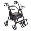transport-chair / rolling-walker-duet