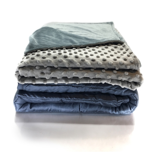 comfort weighted gravity blanket for Alzheimer's, Dementia, Autism and Anxiety