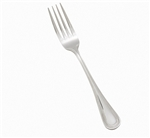 Winco Deluxe Pearl European Table Fork, Extra Heavy, (0036-11)